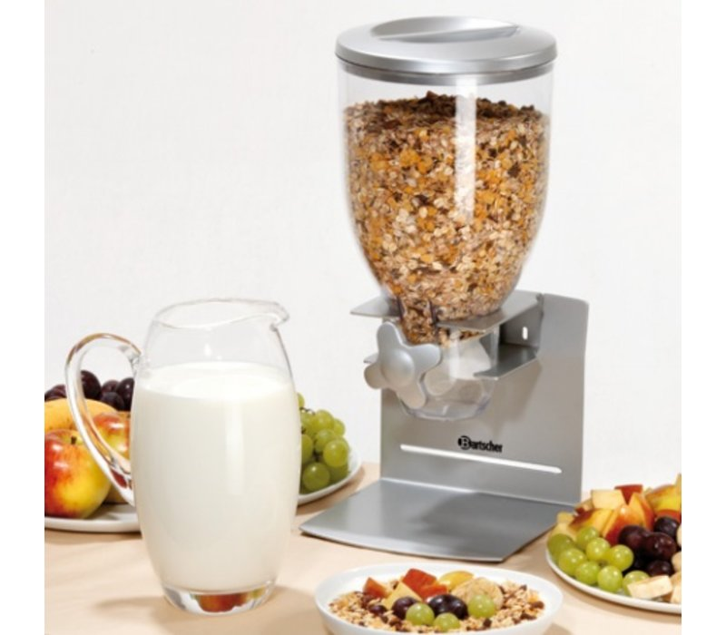 Bartscher Distributor for Breakfast Cereals | Plastic | 3.5 Liter | 180x170x (H) 395mm