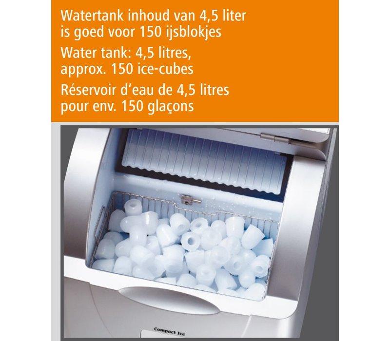 Bartscher Ice cube machine - 3 Sizes Adjustable - 15 kg / 24h