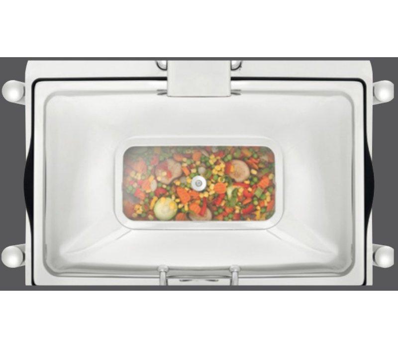 Bartscher Chafing Dish Elektrisch | Elegance | 1/1 GN | Digitaal | 670x420x(H)370mm