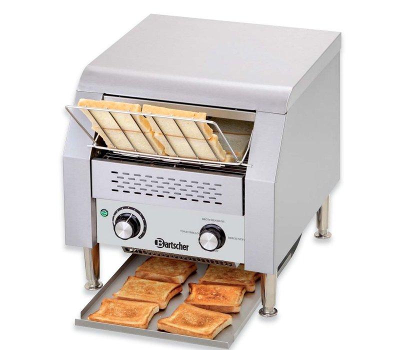 Bartscher Gehen Sie durch Toaster 150 Scheiben pro Stunde - RVS - 36,8x44x (H) 38,5cm - 2240W