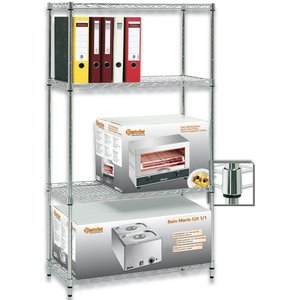Bartscher Warehouse storage rack - 910x460x1845mm