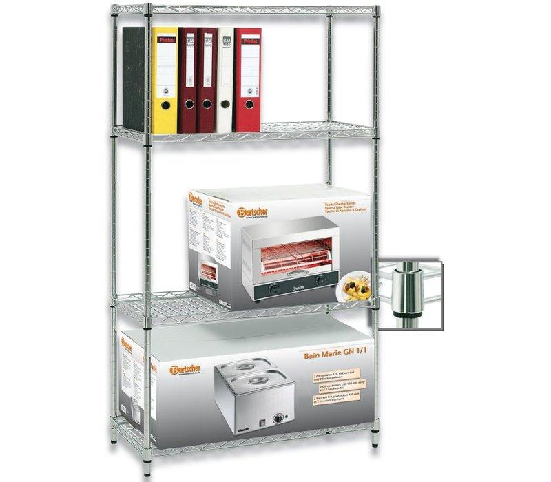 Bartscher Warehouse storage rack - 910x460x1845mm