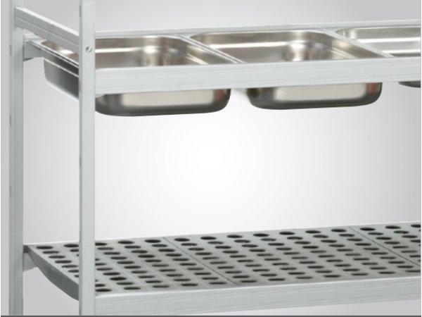 Bartscher Opbergsysteem - 1080x560x1800 mm