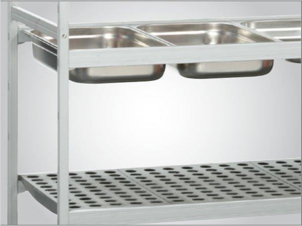 Bartscher Speichersystem - 1500x360x1800 mm