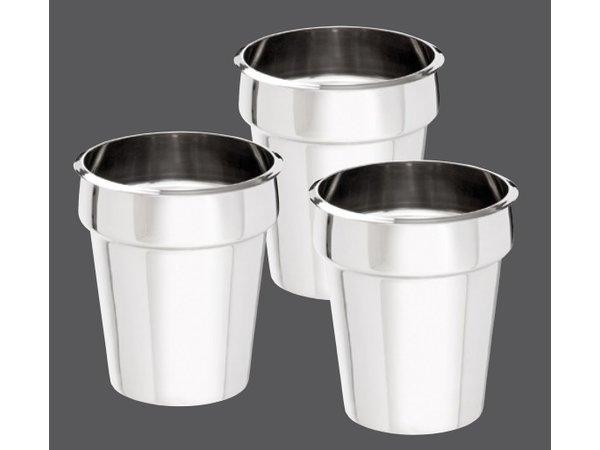 Bartscher Hotpot Bain-Marie | 3x3,5 Liter | RVS | 0,45kW | 610x210x(H)320mm