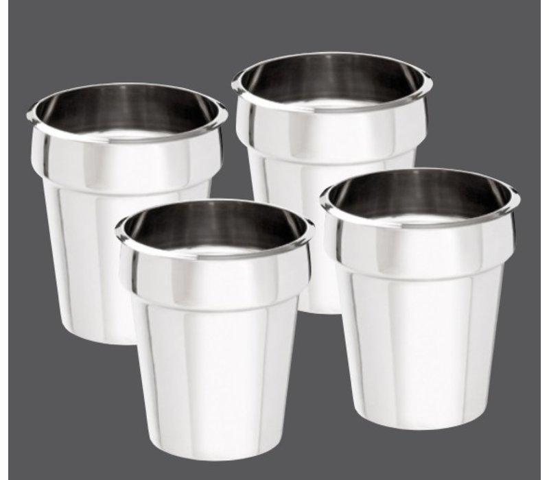 Bartscher Hotpot | Bain-Marie | 4x3,5 Liter | 0,60kW | 415x415x (H) 320mm