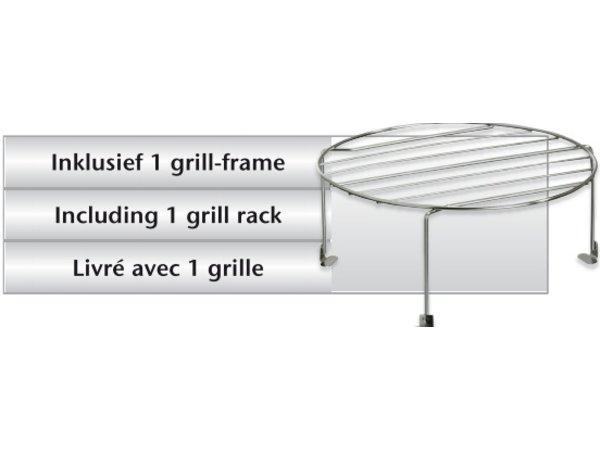 Bartscher Mikrowelle mit Grill - 900W - 23 Liter
