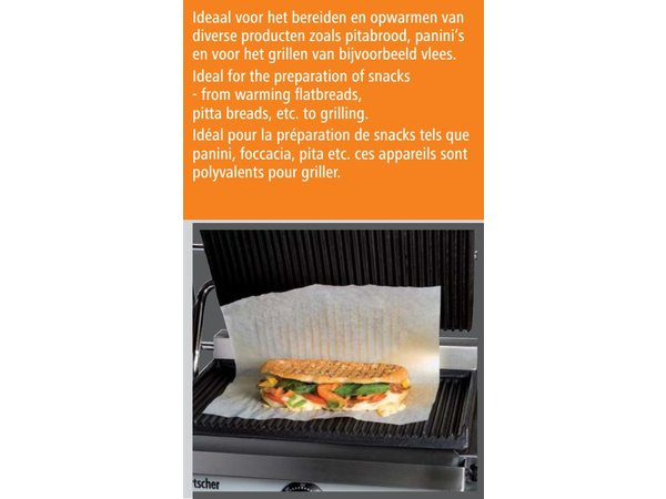"""Bartscher Electric contact grill """"Panini"""""""