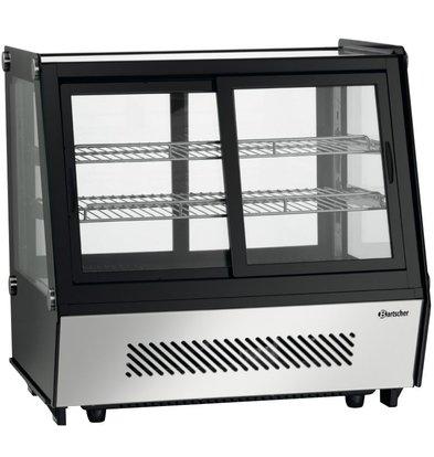 Bartscher Refrigerated display - 120 liters - 2 Silk Operable - 71x57x (h) 69cm