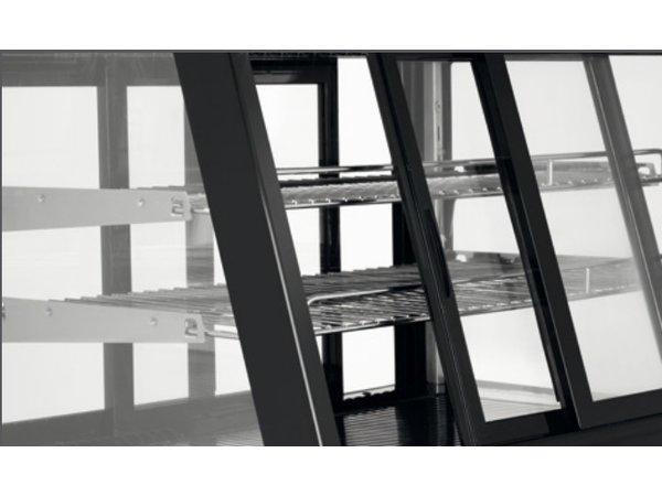 Bartscher Kühlvitrine - 120 Liter - 2 Silk bedienbar - 71x57x (h) 69cm