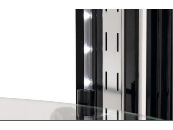 Bartscher Gebaksvitrine Luchtgekoeld   LED Verlichting   400 Liter   Ø680x(H)1750mm