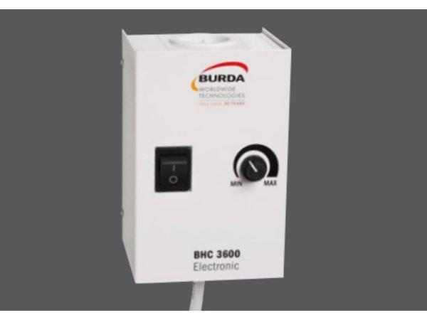 Bartscher Elektrische Infrarood-Straalkachel TERM 2000 IP67 -  600x125x(H)100 mm