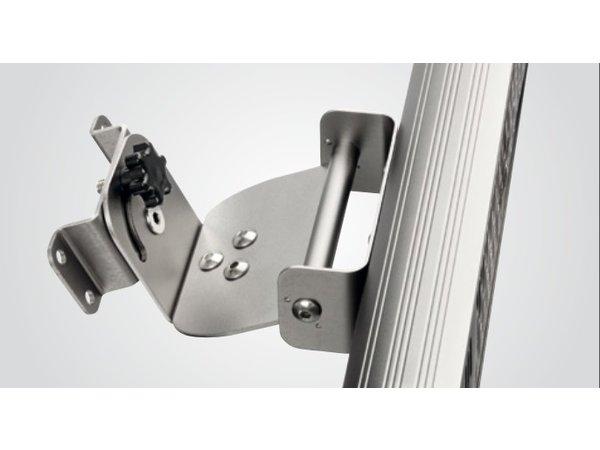 Bartscher Elektrische Infrarood Straalkachel | Wandmontage | Aluminium | Incl. Afstandsbediening | 615x100x(H)100mm