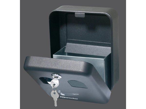 Bartscher Wandascher Stahldosen | 1 Liter | Leicht zu legen | 160x90x (h) 200mm