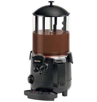 Bartscher Schokolade Dispenser 9,5 Liter | Kunststoffgehäuse | Abnehmbare Kran | 280x410x (H) 580mm