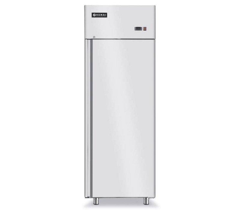 Hendi Erzwungene Kühlschrank - Innen / Außen Edelstahl - Selbstschluss - 700 Liter / 2/1 GN - 730x845x (h) 2130mm