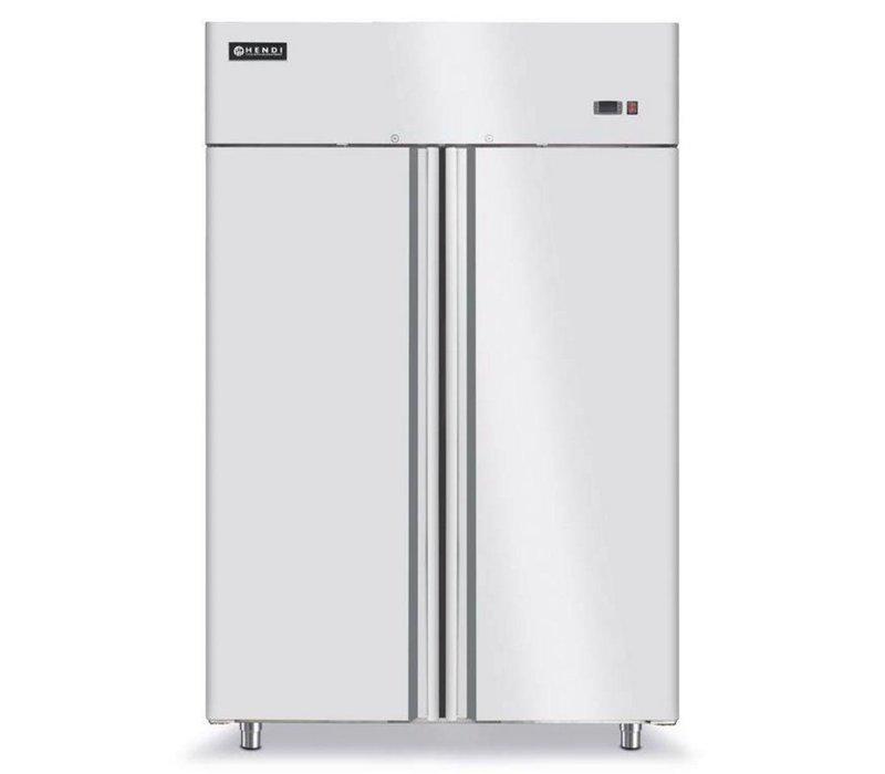 Hendi Kühlschrank 2 Türen Forced - Innen / Außen Edelstahl ...