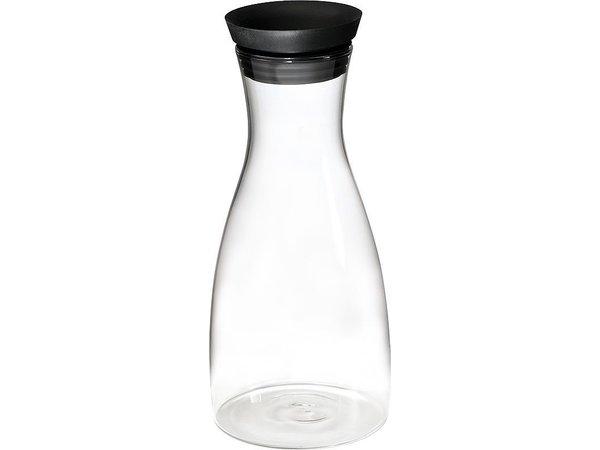 APS Glazen Karaf | 1 Liter | RVS/Siliconen dop | Ø9,5x(H)29cm