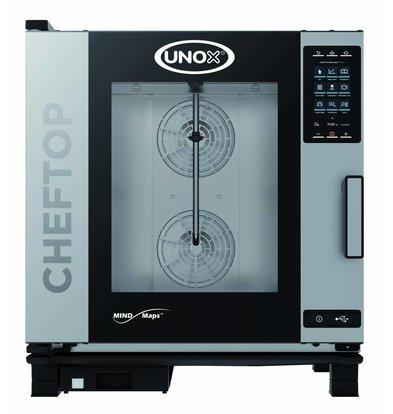 Unox Kombidämpfer Plus Elektro Combi Ofen | XEVC-0711-EPR | 7 x GN 1/1 | 400V | 750x773x843 (h) mm