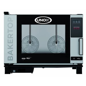 Unox Combisteamer One Electric Combi Oven | XEBC-04EU-E1R | 4 x 600x400mm | 230V | 860x957x675(h)mm