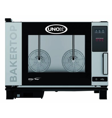 Unox Combisteamer One Electric Combi Oven | XEBC-04EU-E1R | 600x400mm x 4 | 230 | 860x957x675 (h) mm