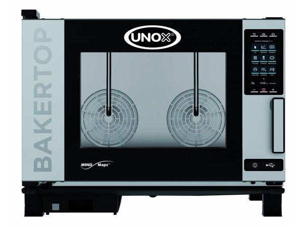 Unox Kombidämpfer Plus Elektro Combi Ofen | XEBC-04EU-EPR | 600x400mm x 4 | 400V | 860x957x675 (h) mm