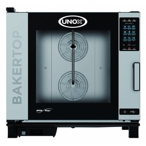 Unox Combisteamer Plus Electric Combi Oven   XEBC-06EU-EPR   6 x 600x400mm   400V   860x957x843 (h) mm