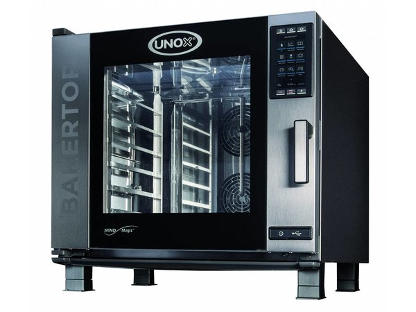 Unox Combisteamer Plus Electric Combi Oven | XEBC-06EU-EPR | 6 x 600x400mm | 400V | 860x957x843(h)mm
