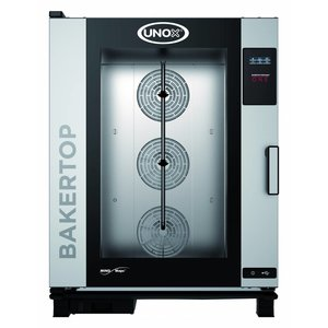 Unox Combisteamer One Electric Combi Oven | XEBC-10EU-E1R | 10x 600x400mm | 400V | 860x957x1163 (h) mm