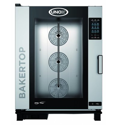 Unox Combisteamer Plus Electric Combi Oven | XEBC-10EU-EPR | 10x 600x400mm | 400V | 860x957x1163 (h) mm