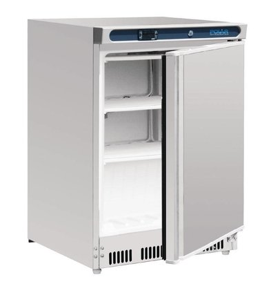 Polar Stainless Steel Freezer - 60x60x (h) 85cm - 140 Liter