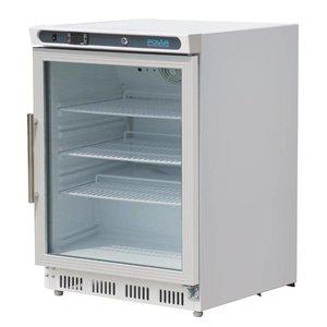 Polar Refrigerator with glass door - 150 Liter - 60x60x (h) 85cm