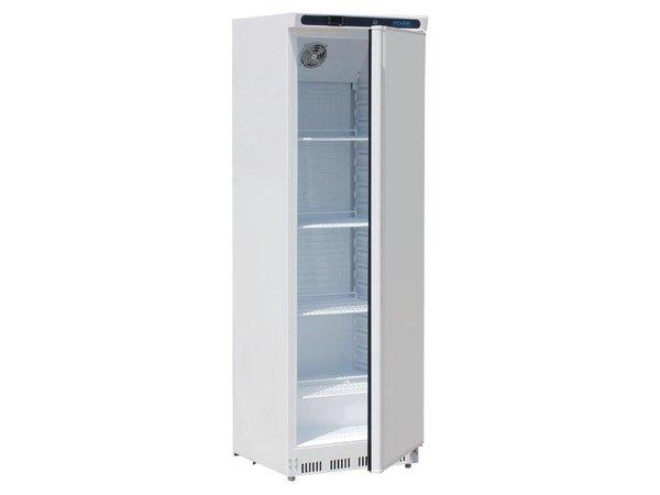 Polar Kühl White Steel - Verstellbare Regale - 400 Liter - 60x60 (h) 185cm