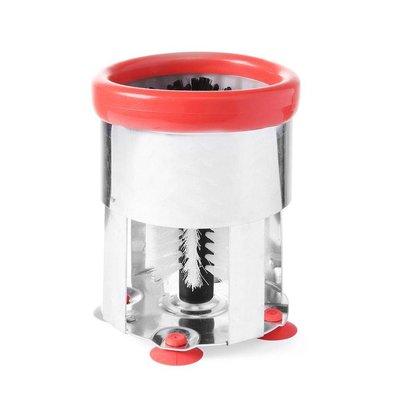 Hendi Gläserbürste rund - Aluminium 150x190 mm