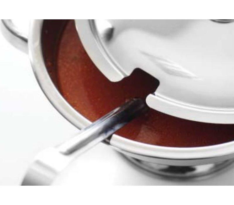 Hendi Tureen RVS | 3 Liter | With Lid | Ø245x (H) 130mm