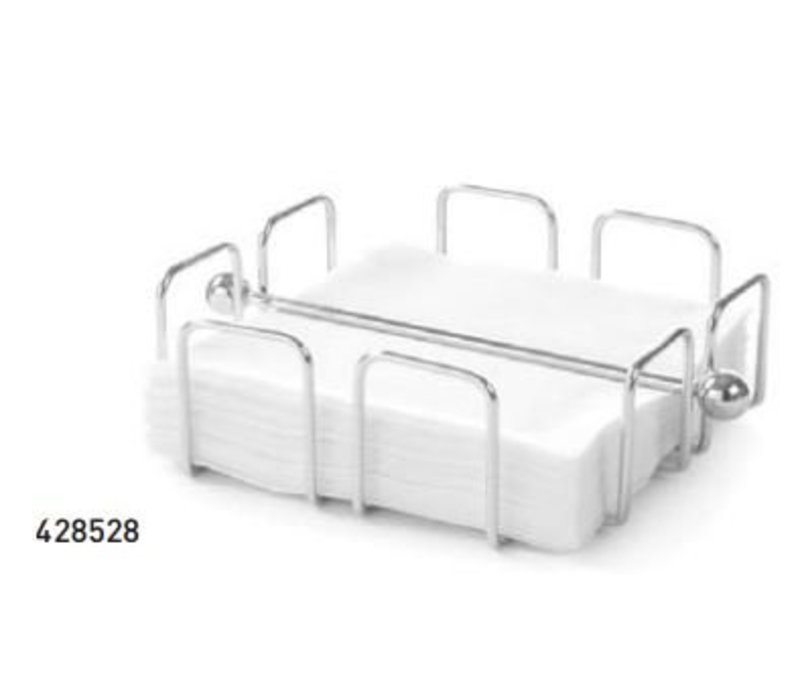 Hendi Napkins Standard wire iron - 190x190x65 mm chrome