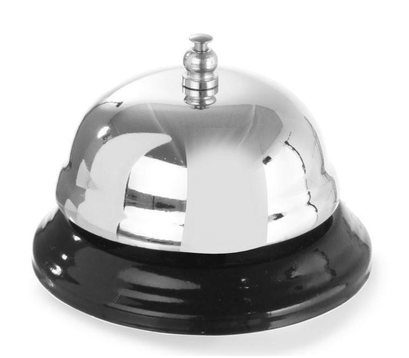 Hendi Reception bell chromed - with metal base 85x60 mm
