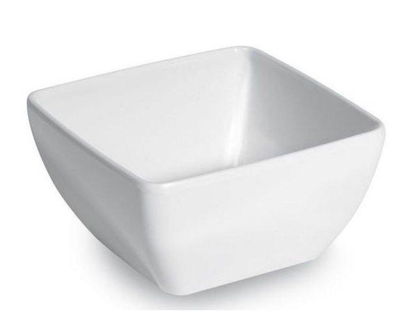 Hendi Square bowl Melamine | 130x130x (H) 65mm