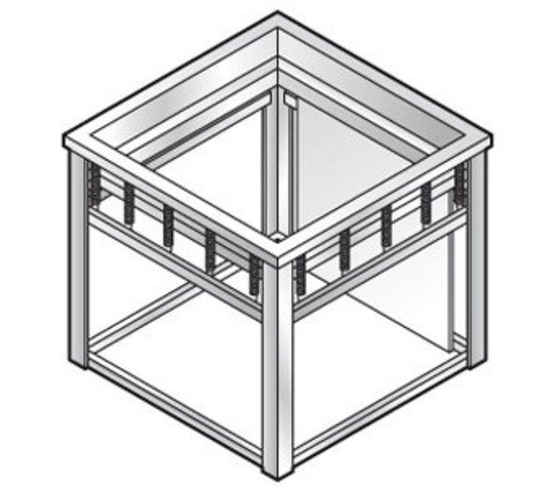 Combisteel Dienbladenlift | voor 500x500mm dienbladen | 640x600x(h)580mm