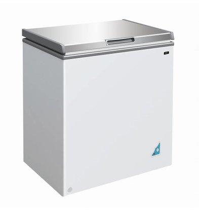 Combisteel Stainless steel Freezer - 148 Litres - 62x42x (h) 63cm