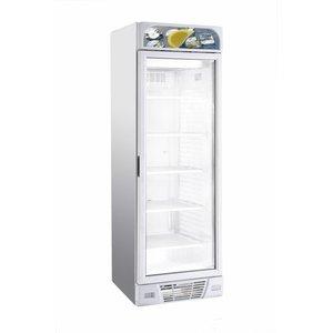 XXLselect Horeca Freezer - Glass Door - 382 Liter - 64x67x (h) 206 mm