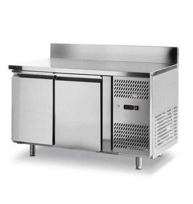 Hendi Freeze-Workbench - 2 Türen - Maschinen Rechts - 1360x700x (H) 850mm