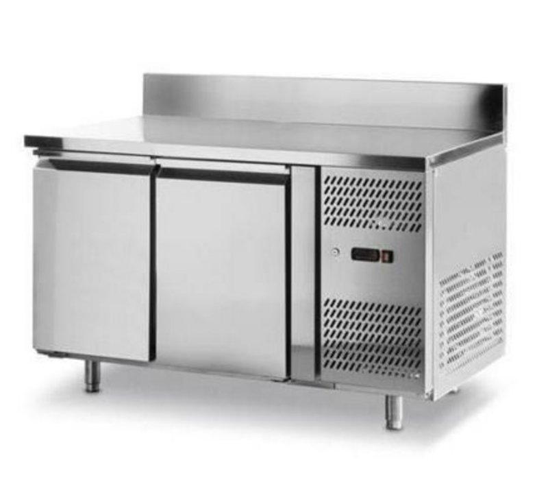 Hendi Freeze Workbench - 2 Doors - Machine Right - 1360x700x (H) 850mm