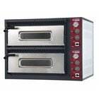 Diamond Pizza Oven Electric Double | 2 x 4 pizzas Ø33cm | 400V | 9,4kW | 980x930x (H) 750mm