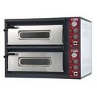 Diamond Pizza Oven Elektrisch Dubbel | 2x 4 Pizza's Ø33cm | 400V | 9,4kW | 980x930x(H)750mm