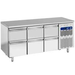 Diamond Cool Workbench - 6 drawers - 181x70x (h) 88cm - 405 liters - 1 / 1GN