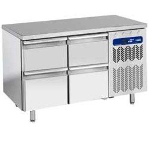 Diamond Cool Workbench - 4 drawers - 136x70x (h) 88 / 90cm - 1 / 1GN - 260 Liter