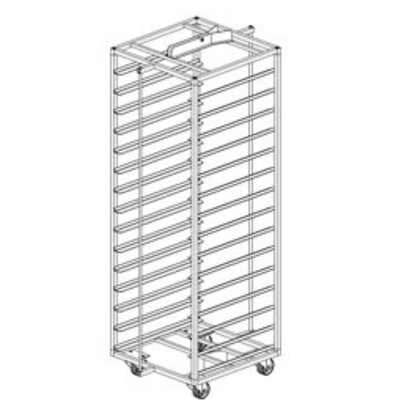 Diamond Stainless Steel Cart for Bakery Oven