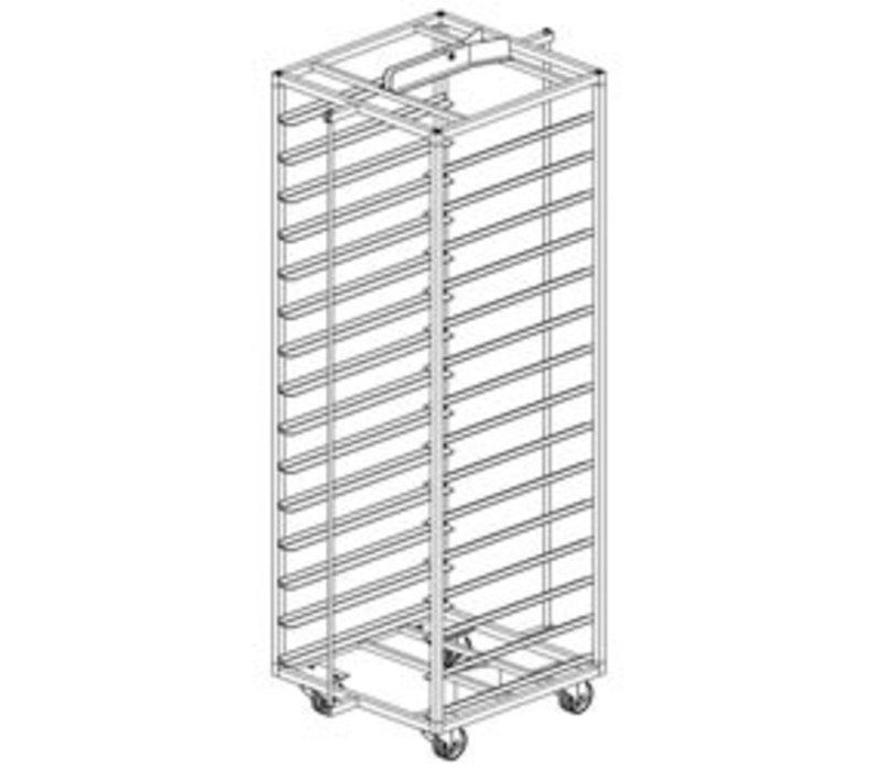 Diamond Stainless Steel Cart for Bakery Oven