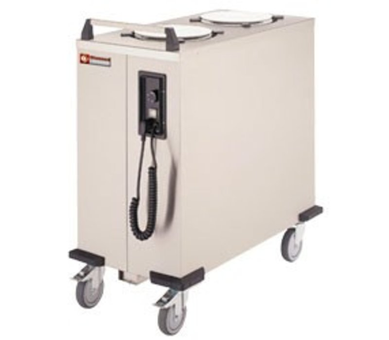 Diamond Plate warmer / signs Dual Dispenser - 110/120 boards - Ø 26cm - 435x870x (H) 910mm